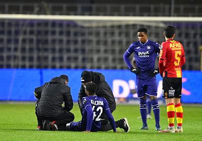 Zorgen bij Anderlecht: paars-wit ziet twee sterkhouders geblesseerd uitvallen