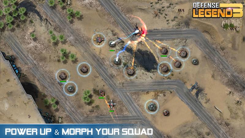 Defense Legend 3: Future War Screenshot 1