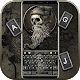 Hipster Music Skull Keyboard Theme Download on Windows