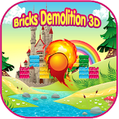 Bricks Demolition 3D - Rkanoid Style Game In 3D Android APK Download Free By A2z Games