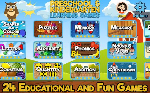 Preschool and Kindergarten Learning Games  screenshots 1