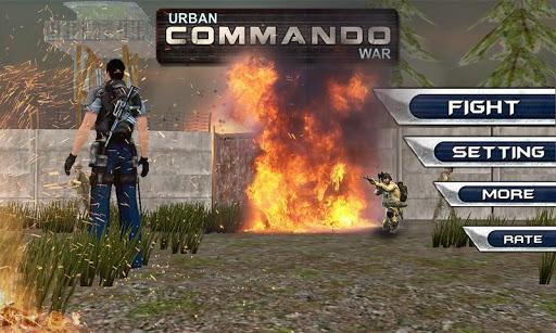 Commando Sniper Urban Shooting