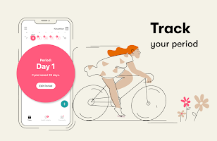 screenshot of Flo Period tracker, Ovulation & Pregnancy tracker