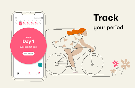 Flo Period tracker, Ovulation & Pregnancy tracker 2