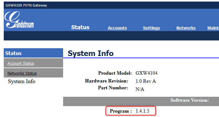 How to Configure a Grandstream GXW Series FXS Gateway with 3CX