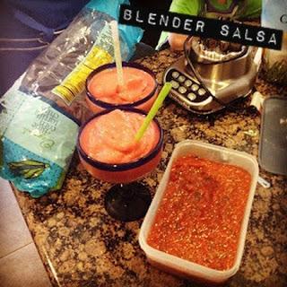 Quick Blender Salsa