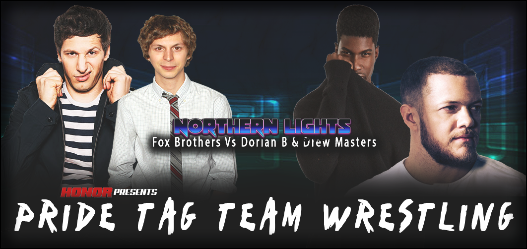 & VS & NLW Featured MatchDrew Masters and Dorian Browne vs Fox Brothers