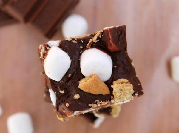 Your Favorite Summertime Flavors Are Transformed Into A Decadent Fudge - No Campfire Needed
