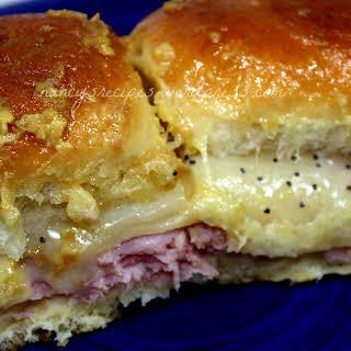 Hawaiian Ham Sandwiches.