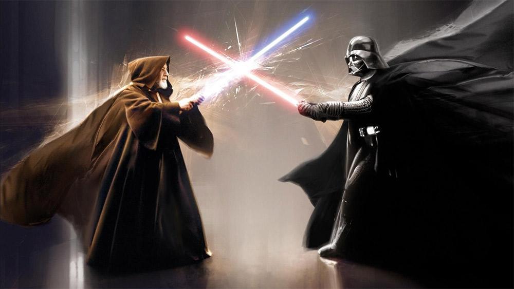 Fã moderniza duelo entre Darth Vader e Obi-Wan Kenobi e resultado  impressiona - supervault