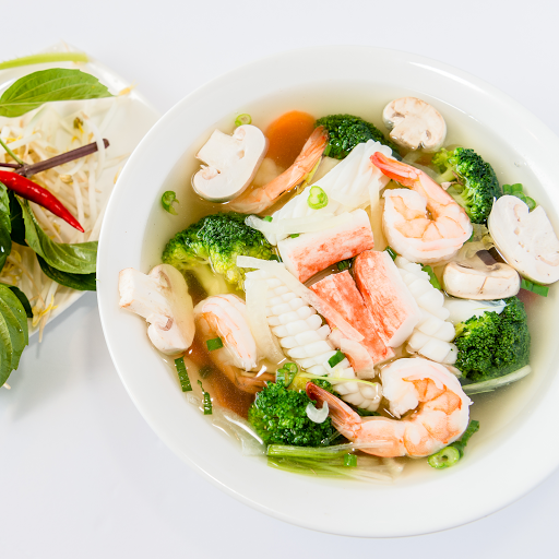 Seafood and Vegetables Pho