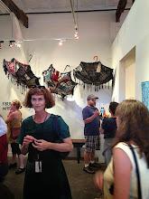Photo: Fiber IN form fiber arts show august 2104 Santa Cruz CA my umbrellas