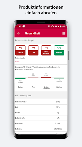 barcoo - QR Scanner   Inhalte per Barcode checken 26 screenshots 2