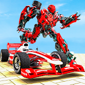 Formula Car Robot Transforming Wars Android APK Download Free By Mustard Games Studios