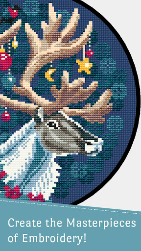 Cross Stitch Club u2014 Color by Number with a Hoop screenshots 2