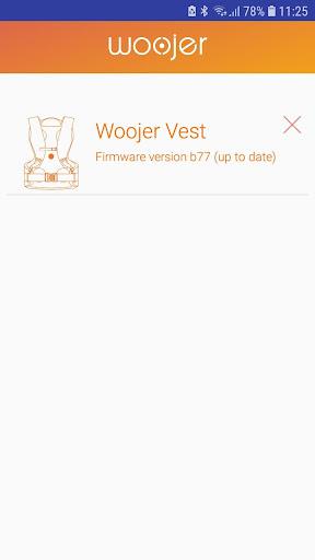 Vest firmware update screenshot 3
