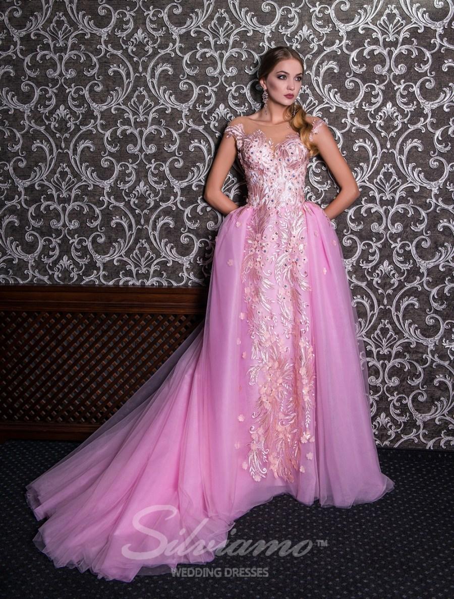 рожеве вечірнє плаття на випускний