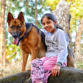 ROJA n rocket by Kanwar Rajneesh Singh - Animals - Dogs Portraits