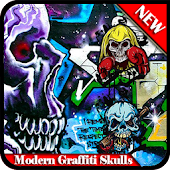 Modern Graffiti Skulls Android APK Download Free By Griyadroid