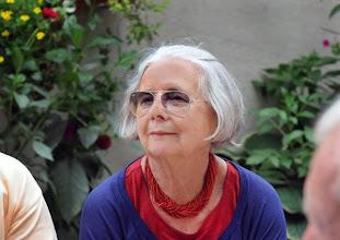 Photo: Merker-Ehrenpräsidentin Inge M. Scherer. Foto: Barbara Zeininger