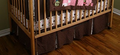 Free Baby Projects Make A Crib Cot Skirt
