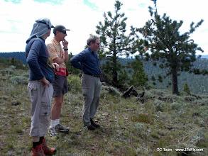 Photo: Pine, west launch - Matt, Steve and Barry