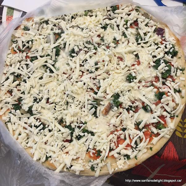 Frozen Pizza Sanfans Delicious Delights