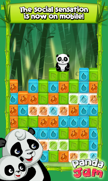 Panda Jam Android App Screenshot