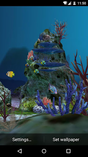 3D Aquarium Live Wallpaper HD 1.3.6 screenshots 7