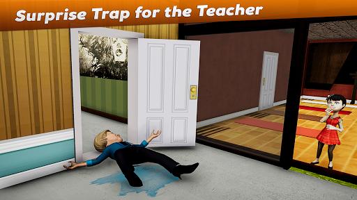Crazy Scary Evil Teacher 3D - Spooky Game 1.1 screenshots 7