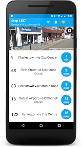 Next Bus Dublin Free screenshot 0