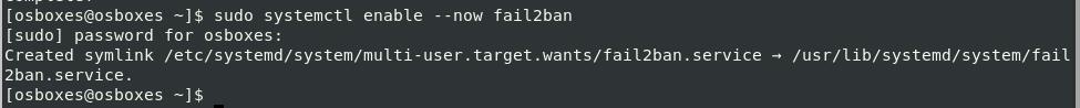 Install and Configure Fail2ban on CentOS