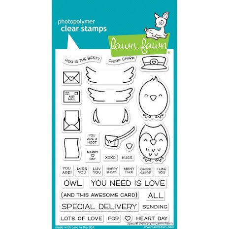 Lawn Fawn Clear Stamps 4X6 - Special Delivery