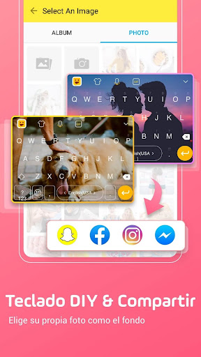 Facemoji Keyboard Pro: DIY Themes, Emojis, Fonts 2.6.0.3 screenshots 1