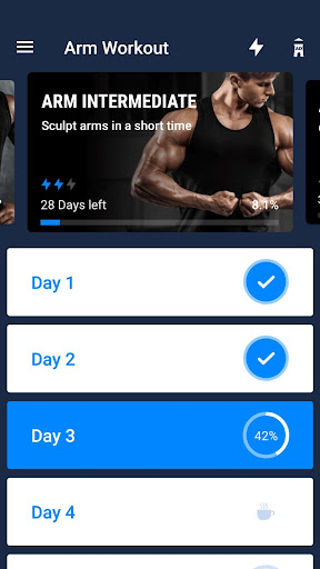 Arm Workout - Biceps Exercise 1.0.4 screenshots 2