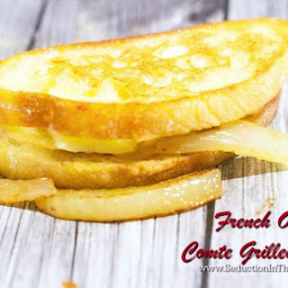 French Onion Comte Grilled Cheese Recipe