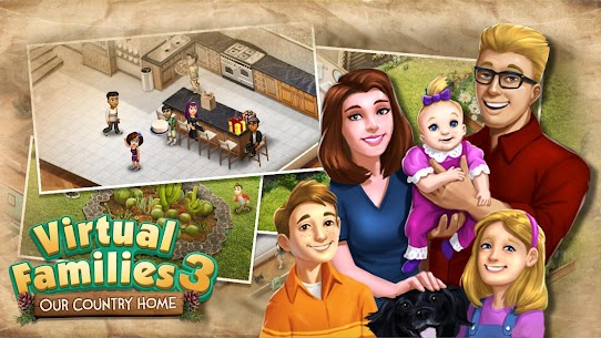 Virtual Families 3 Mod Apk (Unlimited Money) 7
