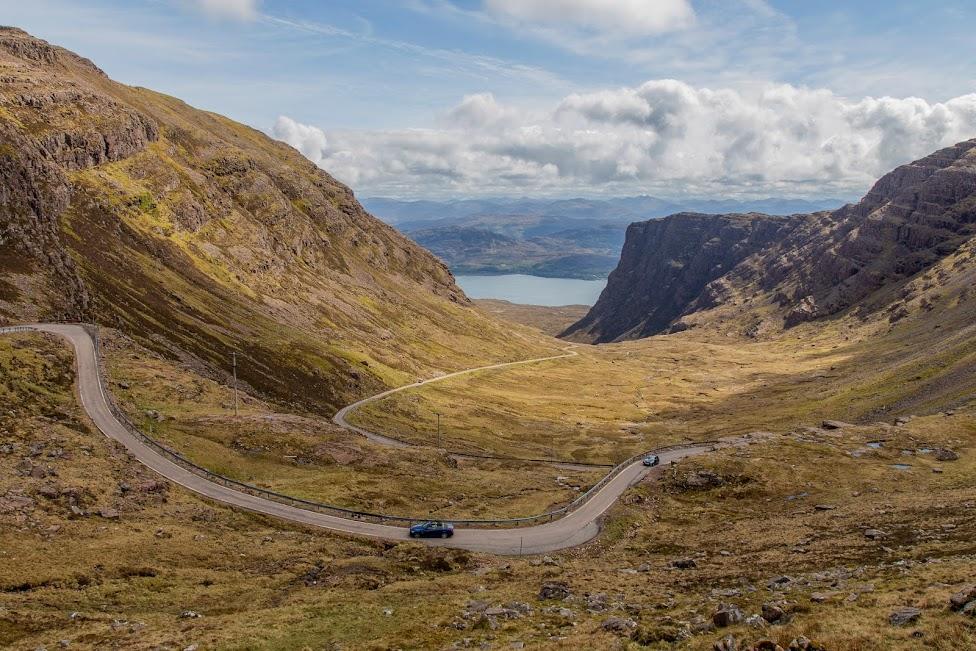 Szkocja, North Coast 500, Bealach na Ba