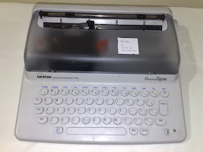 Photo: Brother Electronic Typewriter PY-80 Personal Type