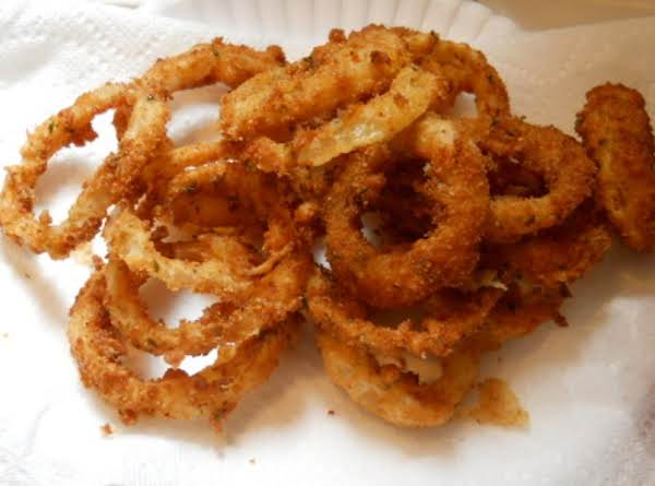 Old Fashioned Fried Onion Rings