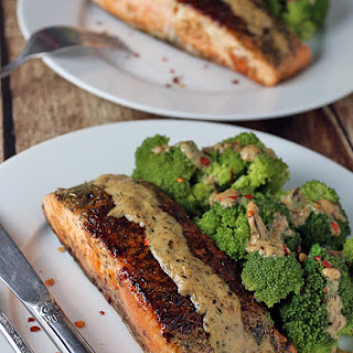 Salmon With Dill Cream Sauce Recipes
