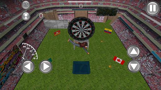 Guy Throw Darts 3D