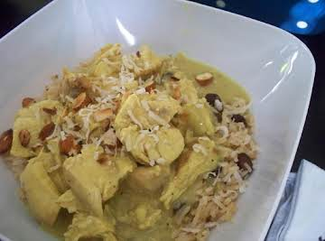Chicken curry fast