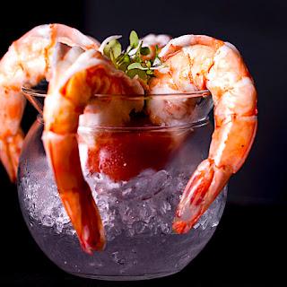 The Hirshon Shrimp Cocktail And Cocktail Sauce.