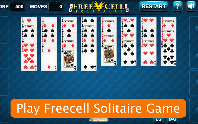 Freecell Solitaire Game