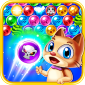Magic Kitty Cat: Bubble Pop