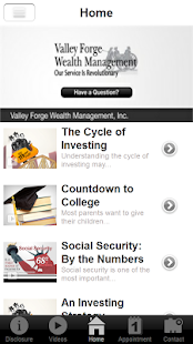 Valley Forge Wealth Management- screenshot thumbnail