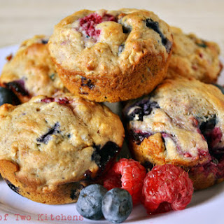 Hearty Berry Muffins
