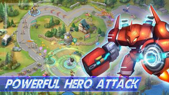 Hack Game Thor: Infinite Defense apk free