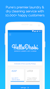 HelloDhobi - Laundry Services- screenshot thumbnail